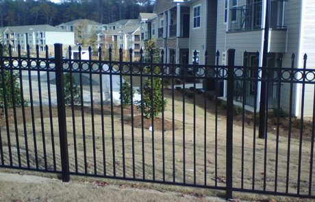 Commercial Aluminum Fencing | Tek-Rail | Greenville SC
