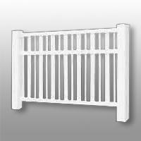 Vinyl Fence 21