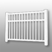 Vinyl Fence 19