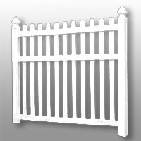 Vinyl Fence 22