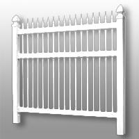Vinyl Fence 24
