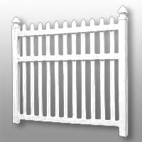 Vinyl Fence 23